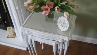 Shabby Chic Nest Of Table