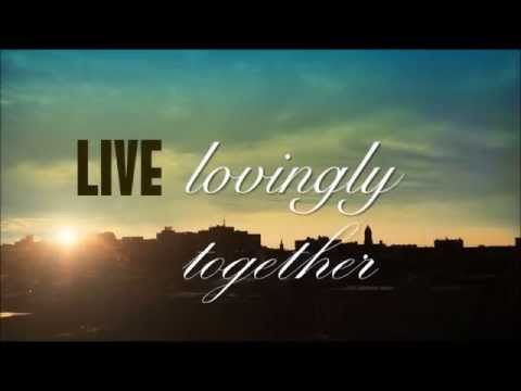 """LIve Like Jesus"" - Live Lovingly Together"