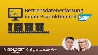 Sap Bde, Poi, Sap Mes: Betriebsdatenerfassung In Der Produktion Mit Sap - Mindlogistik
