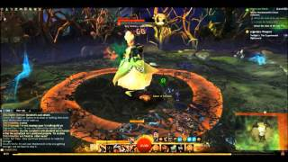 GW2 HoT Hearts of Minds Caithe fight With notes