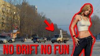 Экстремальное вождение: ульяновский водитель развернул «Газель» на 180°
