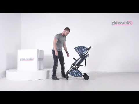 Chipolino Лятна детска количка Вайб деним #G2n9TeGjCHo