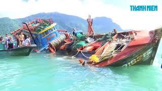 Côn Đảo sau bão số 16 Tembin | Hàng chục tỉ đồng trôi theo sóng gió