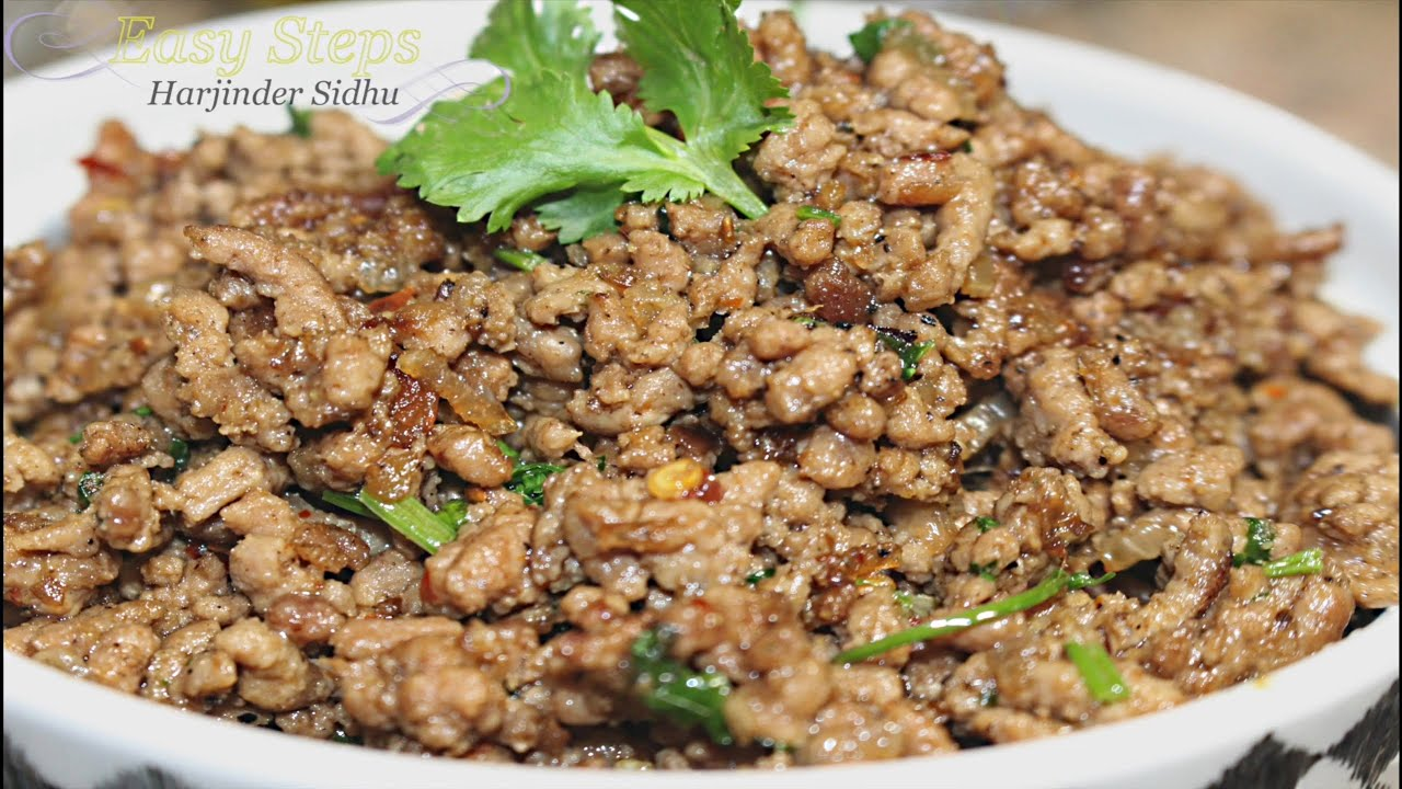 How to Cook Lamb Keema | Ground Lamb in Easy Steps - YouTube