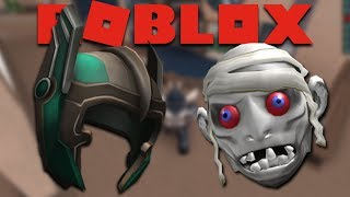 How to get Guise of the Sand and Thor's Helmet in Roblox Event Nightmare Before Bloxtober 2017
