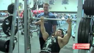 Instructional Fitness - Smith Machine Incline