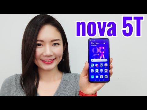 【HUAWEI nova 5T】5つのカメラを搭載したハイスペックスマホが5万円台買える!nova 5Tの性能を動画でチェック|あやのと博士のモバイル最前線 050