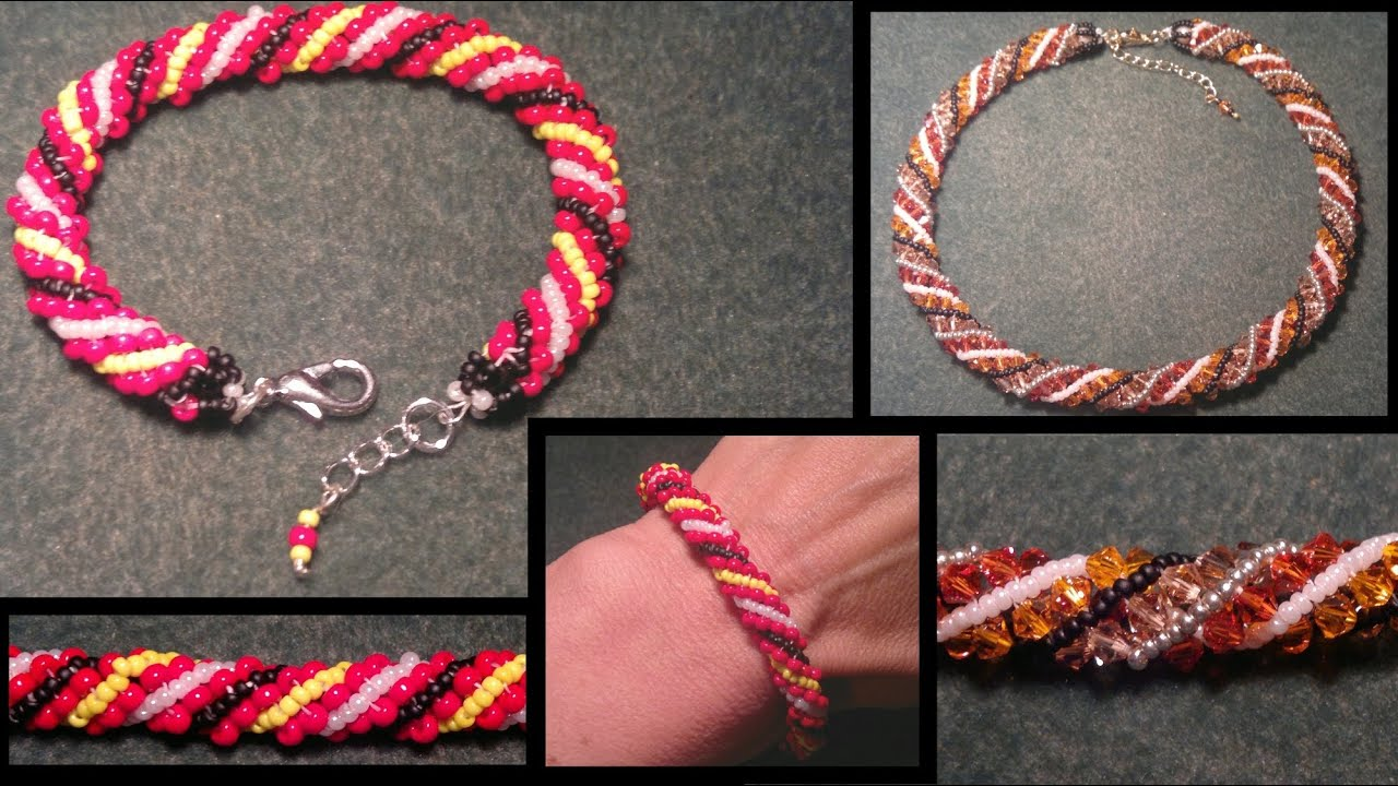 beading4perfectionists : Russian spiral seedbead bracelet ...