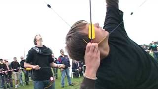 EK Boogschieten Staande Wip Jeugd 2008 - shooting at the vertical pole