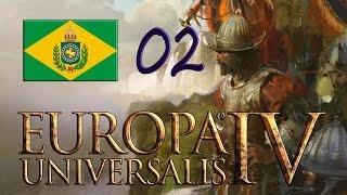 Europa Universalis IV - Brasil - Equilíbrio econômico e expansão #2