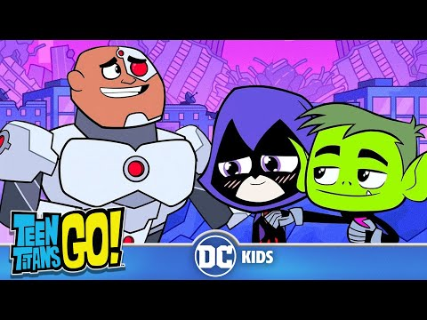 Teen Titans Go!   How Cyborg Joined The Justice League!   DC Kids