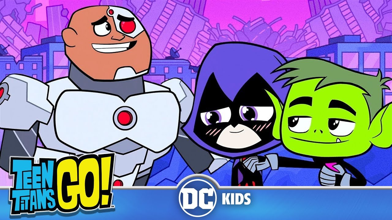 Teen Titans Go  How Cyborg Joined The Justice League  Dc Kids - Youtube-1775