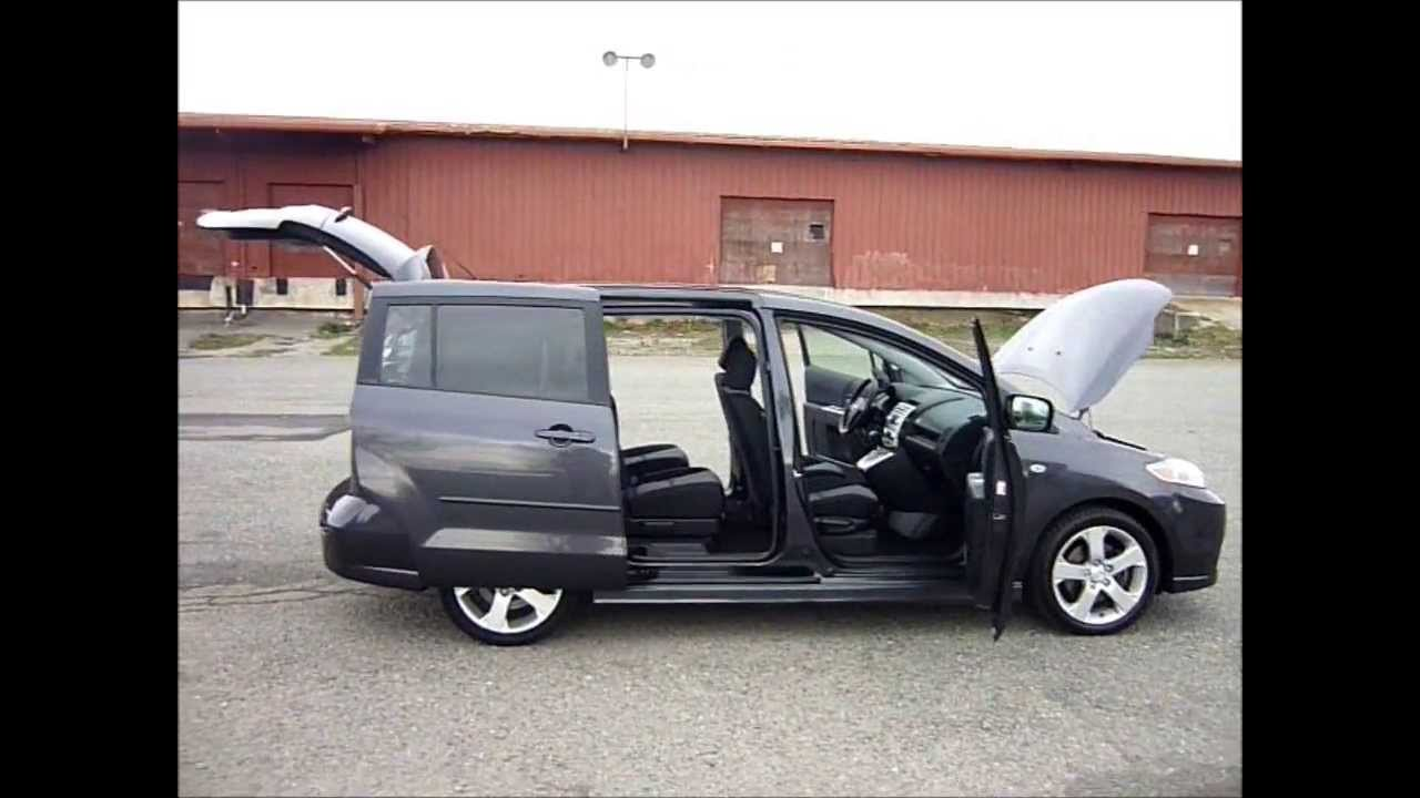 Great 2006 Mazda 5   Auto   146Kms.   6 Passenger   Dual Sliding Doors   $9995    Malibu Motors Victoria   YouTube
