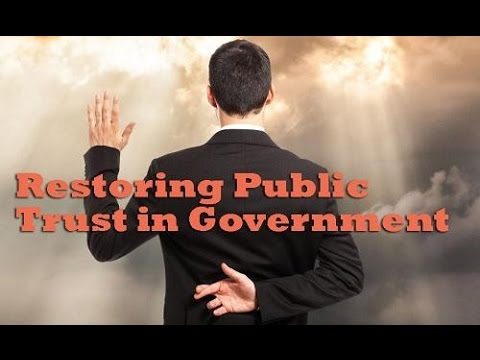 Watch a live discussion on restoring trust in Michigan's government
