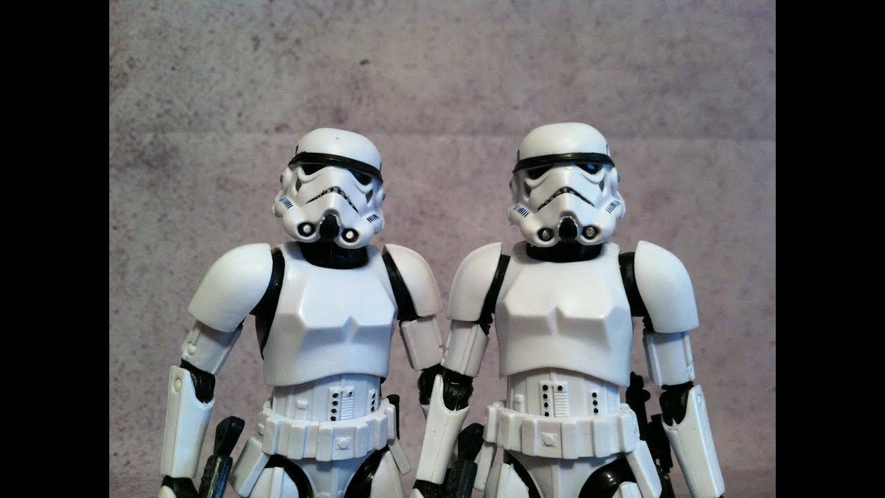 Original Star Wars Toys : Stormtrooper th anniversary vs original star wars