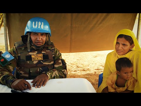 Bangladeshi Peacekeepers Deliver Medical Aid in Mali
