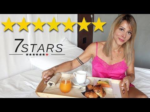 HO PASSATO LA NOTTE NELLA SUITE DEL PRIMO HOTEL 7 STELLE IN EUROPA !!! *delusa*