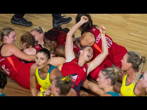 England's netball team shock Australia to win Commonwealth gold