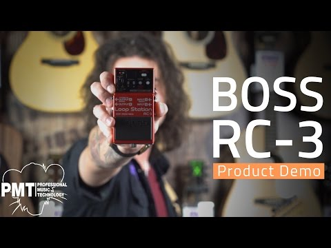 Boss RC3 Loop Station Pedal - Demo