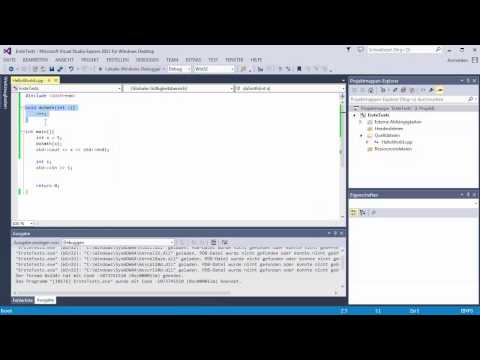 C++ Tutorial [013] - call by reference, Referenzen an Funktionen GERMAN