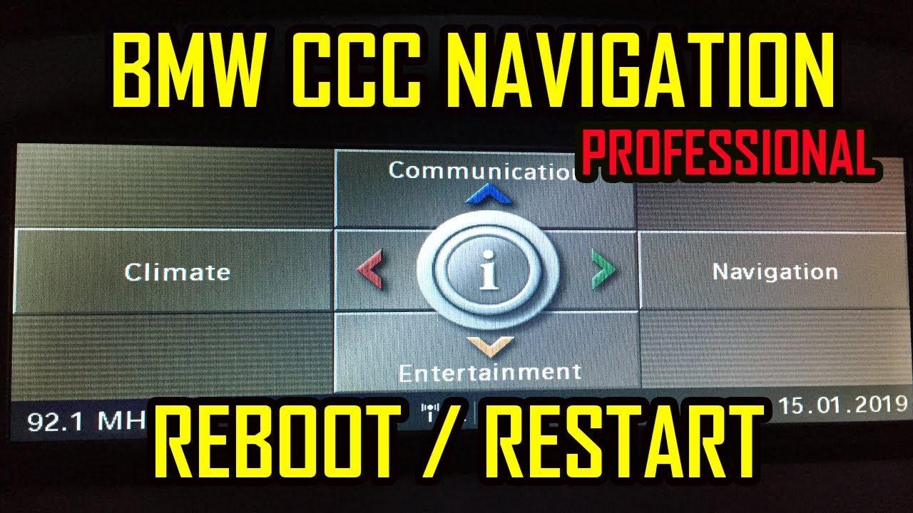 Bmw E60 E90 E63 E81 X5 X6 Idrive Ccc Force Reboot Reset