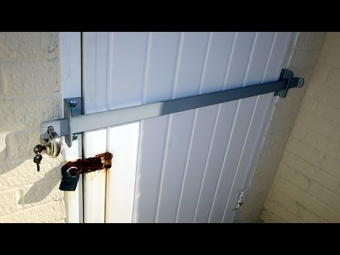 Which is the best type of shed security bar youtube for Front door security bar