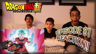 Dragon Ball Super Ep. 81 REACTION + Predictions!! |