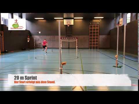 20m Sprint