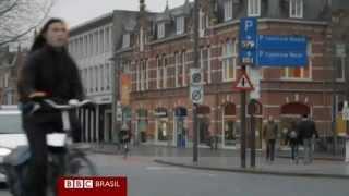 Holanda cria ciclovias com faixas que
