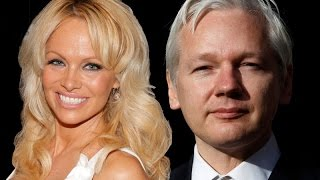 Pam Anderson Defends Wikileaks and Slams Hillary Clinton!!!