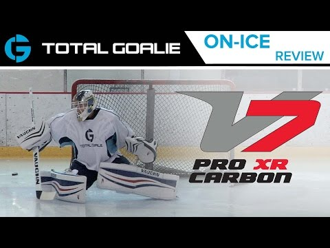 Vaughn Velocity 7 XR Pro Carbon Leg Pads // On-Ice Review
