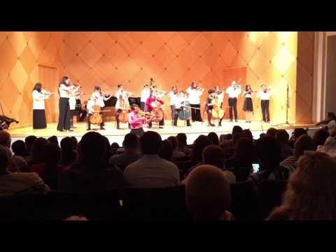 CRAWDAD SONG Violin Concert at ASU String Project