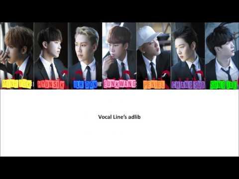 LUV -  BTOB (비투비) Color Coded Lyrics [JPN|ROM|ENG]