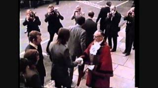 Arsenal's 1970-71 Team Receive Freedom of Islington