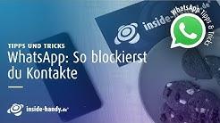 WhatsApp: Personen einfach und schnell blockieren