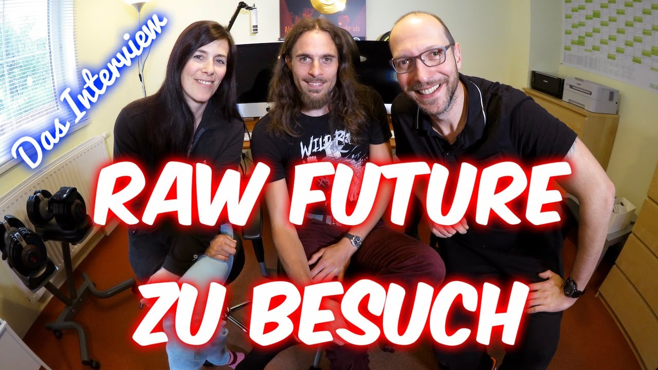 Raw Food mit Marlon von Raw Future (Interview) [VEGAN]