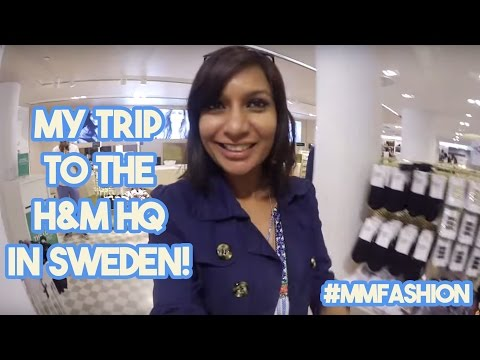 My Trip To The H&M Headquarters In Sweden!