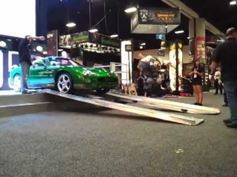 Removing the Jaguar at Comic-Con