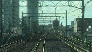 [鉄道の日スペシャル]E231系常磐線快速電車前面展望 北千住~上野(急停車あり)
