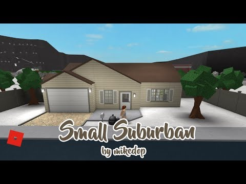Roblox │welcome To Bloxburg Small Suburban Tour Youtube