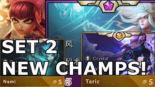 NEW CHAMPIONS TFT Rise of the Elements REVEALED TEAMFIGHT TACTICS New Origins, Classes SET 2