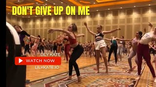 Don't Give up on Me by Andy Grammer I Jaci Royal Choreography I ᴅᴀɴᴄᴇʀ ℓιℓу 𝒦𝒶𝓉𝑒