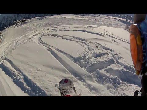 LA THUILE GoPro SNOWBOARDING