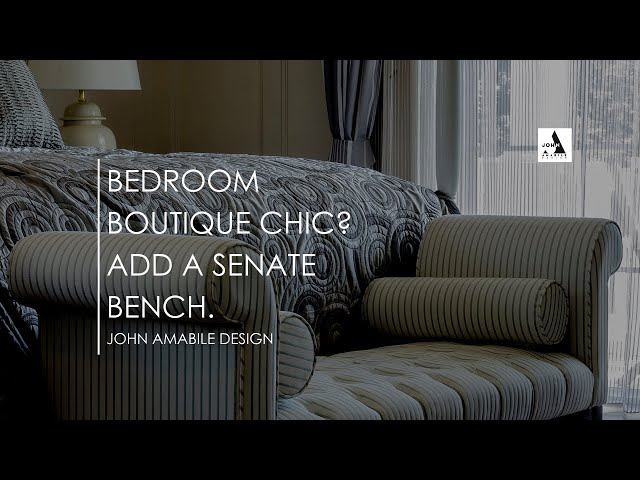 Bedroom Boutique Chic I Interior Designer John Amabile - How To Recreate That Boutique Hotel Vibe