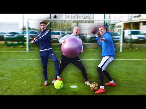 ALL SPORTS PENALTY SHOOTOUT VS MINIMINTER & CHIP