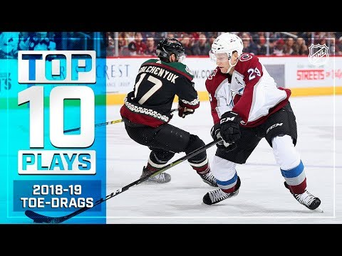 The Top Toe-Drag Plays from the 2018-19 NHL Season
