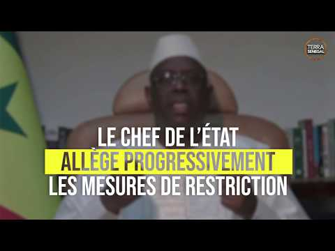 Le Président Macky Sall lève l'État d'urgence