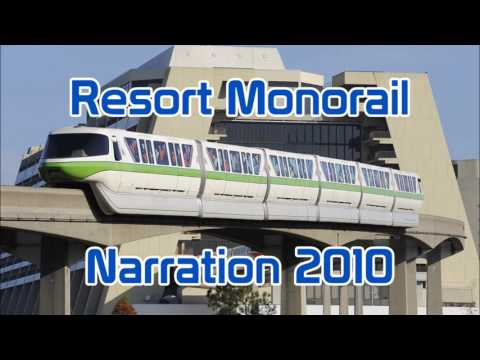 Magic Kingdom | Resort Monorail | Narration | 2010