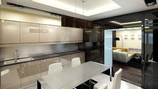 видео Интерьер квартиры в стиле хай-тек