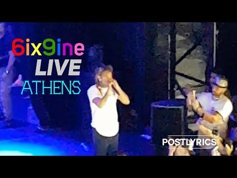 O 6ix9ine LIVE στην Αθήνα! (Piraeus 117 Academy ATHENS)